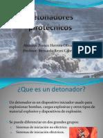 Detonadores pirotécnicos