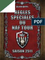 Regles Speciales Du NAF Tour - Saison 2511
