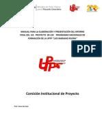 Estructura del proyecto socio integrador
