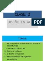 CLASE 2 Acero 2014