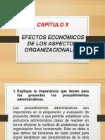 CAP. X_EFECTOS ECONÓMICOS DE LOS ASPECTOS ORGANIZACIONALES.pptx