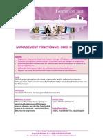 Management Fonctionnel Hors Hierarchie