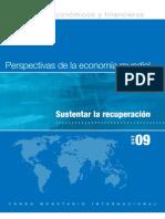 FMI PERSPECTIVAS DE LA ECONOMÍA MUNDIAL OCTUBRE 2009
