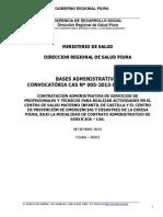 Bases Convocatoria Cas Nº 05-2013-Diresa Piura