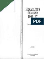 Heidegger - Heraclitus