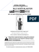 Soda Blaster Manual