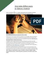 Los Consejos Más Útiles Para Memorizar Datos y Textos