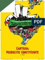Cartilha plebiscito popular Reforma Constituinte