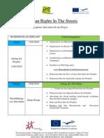 Planning Activities Progression - Deutsch