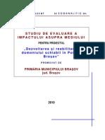 Studiu Evaluare Impact Asupra Mediului_Domeniul_schiabil in Poiana_Bv