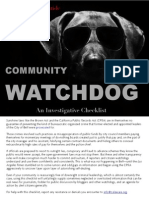 Watchdog Guide Cover & TOC