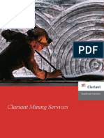 Clariant Mining Services Brochure (Portuguese)