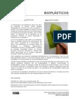 Bioplasticos de Gelatina