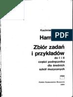 Sikorski K. Harmonia. Zbiór Zadań i Przykładów