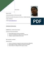 Curriculum Erick Moya