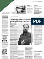 """Entrevista al autor de """"Veintitrés maestros, de corazón"""""""