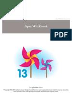 Apex Workbook (Salesforce)