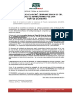 Comunicado - PetroPeru