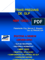 Centrais Prediais de GLP Conforme NBR 13523-95