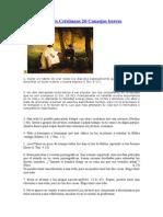 Jovenes Cristianos 20 Consejos.doc