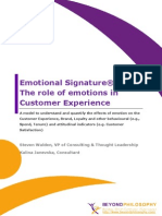 Emotional Signature