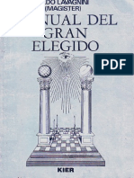 Manual Del Gran Elegido - Aldo Lavagini
