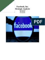 Facebook Inc. Company Analysis