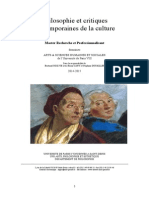 Brochure Master Philosophie 2014 2015 Paris 8
