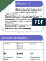 BehaviBehavior modificationor ModificationSNE4220V07TE