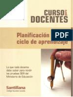 Planificacion y Ciclo de Apredizaje