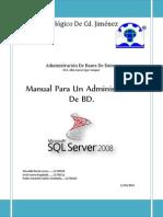 Funciones Del Administrador de Bases de Datos
