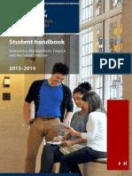 Emfss Handbook 2013-14