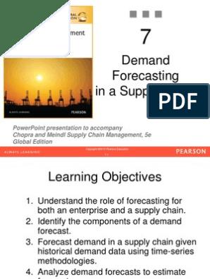 Sunil Chopra SCM | Forecasting | Seasonality
