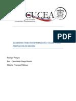 El SistemaEl Sistema Tributario Mexicano Tributario Mexicano