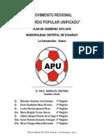Plan de Gobierno Apu