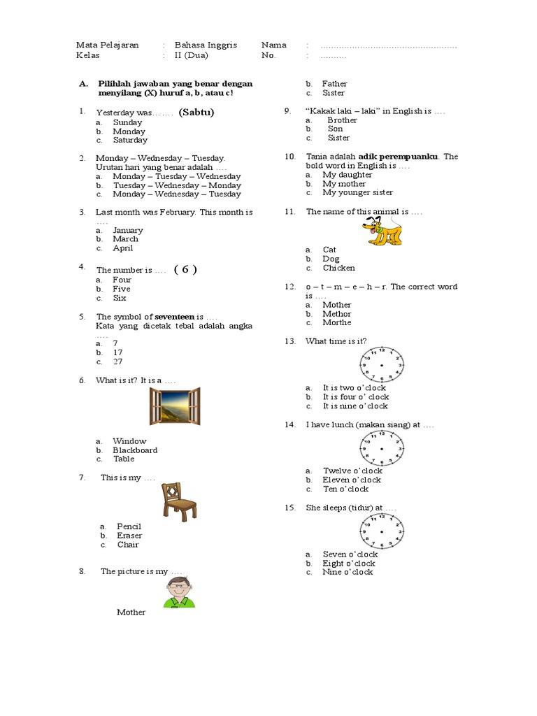modul bahasa inggris sd pdf