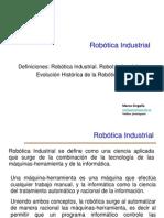 1 Definiciones Evolucion Robotica Industrial