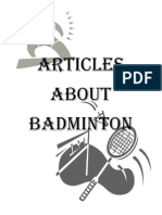 Articles About Badminton