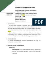 MEMORIA JUSTIFICATIVA ARQUITECTURA Jarvis A. Camborda Ruiz.doc