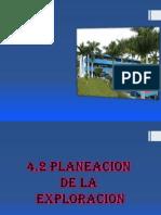 4.2 Planeacion de La Exploracion