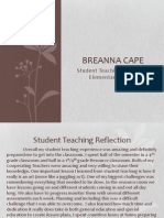 Student Teaching Reflection