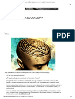 ¿De Qué Sirve La Educación? Gazzetta Del Apocalipsis