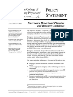 Ed Planning Resource Guidelines