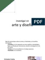 7 Investigar en Arte y Diseño