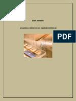 Desarrollo de Ejercicios Macroeconomicos