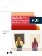 Pwc Ifrs and Luxembourg Gaap
