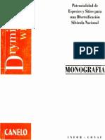 Monografía de Canelo (Drimys Winteri) -1997