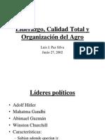 Liderazgo, Calidad Total y Org. Junio 26