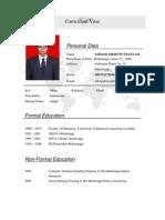 CV Ahmad Zikri