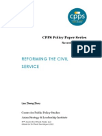 Reforming the Civil Service_Policy Paper_Lau